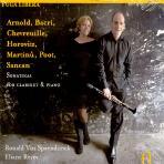 SONATAS FOR CLARINET & PIANO/ RONALD VAN SPAENDONCK