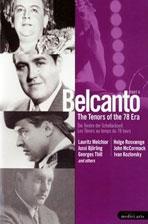 BELCANTO: THE TENORS OF THE 78 ERA PART 2 [전설의 테너 2]