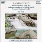 PIANO SONATS NO.2, VARIATIONS ON A THEME OF CORELLI/ IDIL BIRET [라흐마니노프: 피아노 소나타 2번, 코렐리 주제에 의한 변주곡 - 이딜 비레]