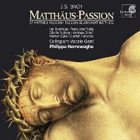 MATTHAUS-PASSION/ COLLEGIUM VOCALE/ PHILIPPE HERREWEGHE
