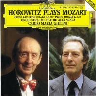 PIANO CONCERTO NO.23, PIANO SONATA/ VLADIMIR HOROWITZ, CARLO MARIA GIULINI [모차르트: 피아노 협주곡 23번, 피아노 소나타 - 호로비츠, 줄리니]