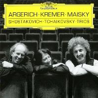 PIANO TRIOS/ MARTHA ARGERICH, GIDON KREMER, MISHA MAISKY [차이코프스키 & 쇼스타코비치: 피아노 트리오 - 아르헤리치, 크레머, 마이스키]