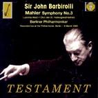 SYMPHONY NO.3 ETC/ JOHN BARBIROLLI