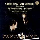 PIANO CONCERTOS NOS.3,4 & 5 `EMPEROR` ETC/ CLAUDIO ARRAU