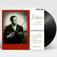 VIOLIN CONCERTO/ CONSTANTIN SILVESTRI, LEONID KOGAN [베토벤: 바이올린 협주곡 - 코간, 실베스트리] [LP]