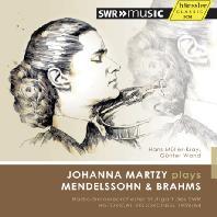 MENDELSSOHN & BRAHMS: VIOLIN CONCERTOS/ HANS MULLER-KRAY
