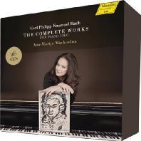 THE COMPLETE WORKS FOR PIANO SOLO/ ANA-MARIJA MARKOVINA [C.P.E. 바흐: 피아노 독주 전곡집 | 안나-마리아 마르코비나]