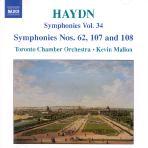 SYMPHONIES NOS.62,107 & 108/ KEVIN MALLON