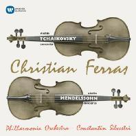VIOLIN CONCERTOS/ CHRISTIAN FERRAS, EUGENE ORMANDY [ORIGINAL JACKET] [차이코프스키 & 멘델스존: 바이올린 협주곡 - 페라스, 실베스트리]