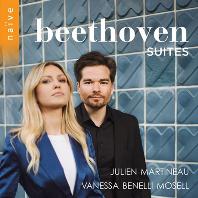 SUITES/ JULIEN MARTINEAU, VANESSA BENELLI MOSELL [베토벤: 만돌린과 피아노를 위한 작품집 - 줄리앙 마르티노]