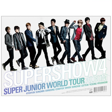 SUPER SHOW 4: THE WORLD TOUR ALBUM