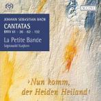 CANTATAS BWV 61,36,62,132/ LA PETITE BANDE, SIGISWALD KUIJKEN [SACD HYBRID] [바흐 칸타타 9집]