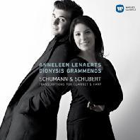 TRANSCRIPTIONS FOR CLARINET & HARP/ ANNELEEN LENAERTS, DIONYSIS GRAMMENOS [클라리넷과 하프로 연주하는 슈베르트: 아르페지오네 소나타 & 슈만: 환상소곡] [디지팩]