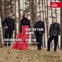 PIANO QUARTETS NO.2 OP.87 & PIANO QUARTET OP.1/ JOSEF SUK PIANO QUINTET [드보르작: 피아노 사중주 2번 & 수크: 피아노 사중주 - 요제프 수크 피아노 사중주단]