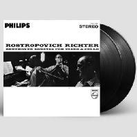 SONATAS FOR PIANO & CELLO/ MSTISLAV ROSTROPOVICH, SVIATOSLAV RICHTER [180G LP]
