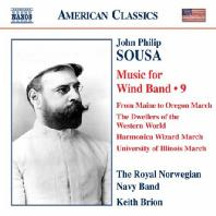 MUSIC FOR WIND BAND 9/ SARAH OVING, KEITH BRION [수자: 관악 밴드를 위한 작품 9집