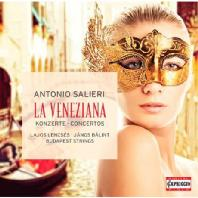 LA VENEZIANA/ BUDAPEST STRINGS [살리에리: 라 베네치아나 & 협주곡 - 부다페스트 스트링스]
