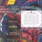 TE DEUM OP.103/ PSALM OP.42/ RILLING