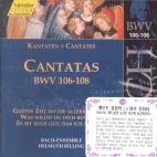 CANTATAS BWV106-108/ HELMUTH RILLING