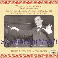 "SUITE FOR STRING, OBOE CONCERTO, SYMPHONY NO.36 ""LINZER""/ JOHN BARBIROLLI [모차르트: 협주곡과 교향곡 - 존 바비롤리]"