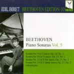 PIANO SONATAS VOL.5/ IDIL BIRET [BEETHOVEN EDITION 10]