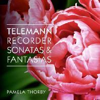 RECORDER SONATAS & FANTASIAS/ PAMELA THORBY [텔레만: 리코더 소나타 & 12개의 무반주 환상곡]