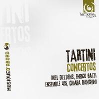 CONCERTOS/ ROEL DIELTIENS, ENRICO GATTI, ENSEMBLE 415, CHIARA BANCHINI [타르티니: 협주곡 모음집 - 앙상블 415, 반키니]