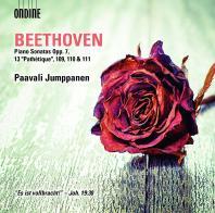 PIANO SONATAS OPP.7, 13 'PATHETIQUE' 109, 110 & 111/ PAAVALI JUMPPANEN [베토벤: 피아노 소나타 4, 8번 <비창> 외]