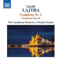 SYMPHONY NO.2 & VARIATIONS OP.44/ NICOLAS PASQUET [라이타: 관현악 작품 2집 - 교향곡 & 변주곡]