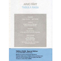 TABULA RASA [CD+BOOK] [SPECIAL] [패르트: 타불라 라사]