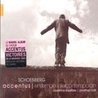 SCHOENBERG/ ACCENTUS/ ENSEMBLE INTERCONTEMPORAIN