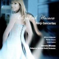 HARP CONCERTOS/ ELIZABETH HAINEN, ROSSEN MILANOV