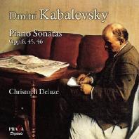 PIANO SONATAS OPP.6,45,46/ CHRISTOPH DELUZE [SACD HYBRID]