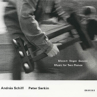 MUSIC FOR TWO PIANO/ ANDRAS SCHIFF, PETER SERKIN [모차르트: 두 대의 피아노를 위한 작품 - 쉬프 & 제르킨]