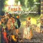 JOHANN FRIEDRICH FASCH CONCERTI & SIMFORIAL