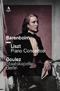 PIANO CONCERTOS/ DANIEL BARENBOIM, PIERRE BOULEZ