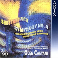 SYMPHONY NO.4/ OLEG CAETANI