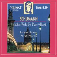 COMPLETE WORKS FOR PIANO 4 HANDS/ ANDRAS SCHIFF, PETER FRANKL [슈만: 두 대의 피아노를 위한 작품집 - 쉬프, 프랑클]