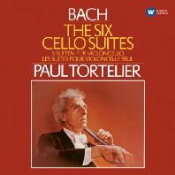 THE SIX CELLO SUITES/ PAUL TORTELIER [ORIGINAL JACKET] [바흐: 무반주 첼로 모음곡]