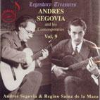 SEGOVIA & HIS CONTEMPORARIES VOL.9