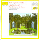 ENGLISH SUITE NO3/ CAPRICCIO BWV992/ KEMPFF