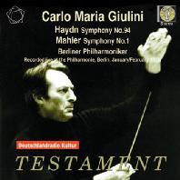 SYMPHONY NO.94 & NO.1/ CARLO MARIA GIULINI