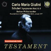 SYMPHONIES NOS.8 & 9/ CARLO MARIA GIULINI