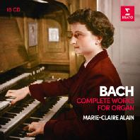 COMPLETE WORKS FOR ORGAN/ MARIE-CLAIRE ALAIN [바흐: 오르간 작품 전집 - 마리 클레르 알랭]
