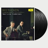 COMPLETE WORKS FOR CELLO AND PIANO/ PIERRE FOURNIER, FRIEDRICH GULDA [베토벤: 첼로 소나타 - 푸르니에, 굴다] [180G LP]