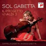 IL PROGETTO VIVALDI 3/ CAPPELLA GABETTA & ANDRES GABETTA [솔 가베타: 비발디 첼로 협주곡집 3]