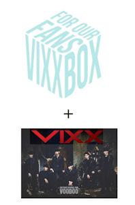 VIXX BOX: FOR OUR FANS+SPECIAL DVD VOODOO [2DVD+스케쥴러 152P+포토카드 17장+캔뱃지8개+컬랙션 카드 7장]