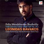 VIOLIN CONCERTO & PIANO TRIO/ LEONIDAS KAVAKOS [멘델스존: 바이올린 협주곡 & 피아노 트리오 - 레오니다스 카바코스]