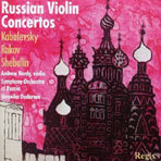 RUSSIAN VIOLIN CONCERTOS/ ANDREW HARDY, VERONIKA DUDAROVA
