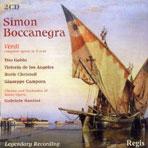 SIMON BOCCANEGRA/ TITO GOBBI, GABRIELE SANTINI